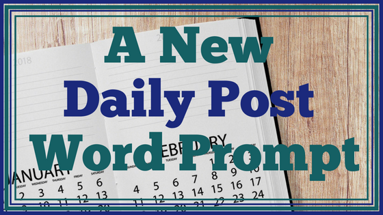 A New Daily Prompt